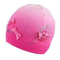 Трикотажная шапка для девочки  TuTu арт. 3-002227(50-54), фото 1