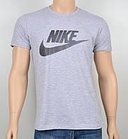 """Мужская футболка """"NIKE-19N02"""" меланж"""