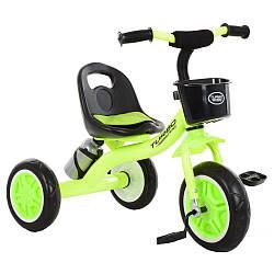 Детский велосипед трехколесный с корзиной Turbo M 3197-M-2 Light Green