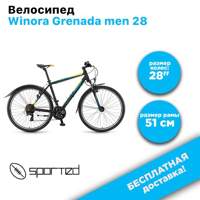 """Велосипед Winora Grenada men 28\"""", рама 51 см, 2018, фото 1"""