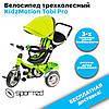 Велосипед трехколесный KidzMotion Tobi Pro Green