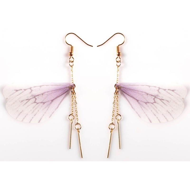 Серьги бабочка