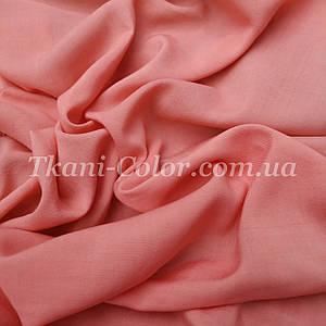 Ткань штапель персиковый