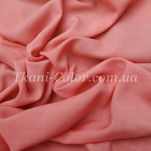 Тканина штапель персиковий