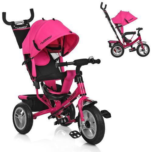 Велосипед трёхколёсный M 3113-6A розовый