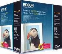 Фотобумага EPSON 100mmx150mm Premium glossy Photo Paper ( C13S041826 ), 500л.