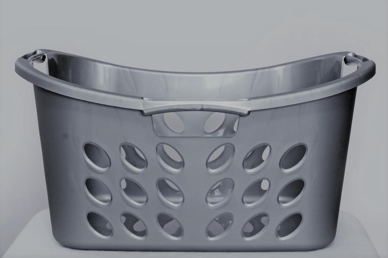 Пластикова корзина для білизни, переносна, 30л, ММ
