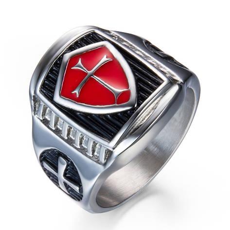 Перстень APST-67 Щит крестоносцев, фото 2