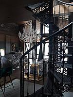 Чавунна гвинтові сходи, D=1.6 м