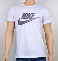 "Мужская футболка ""NIKE-19N02"" белый, фото 1"