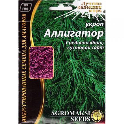 Насіння кропу пізнього «Алігатор» (20 р) від Agromaksi seeds, фото 2