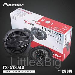 """Колонки автомобильные Pioneer 13см (250 Вт) 5""""дюймов"""