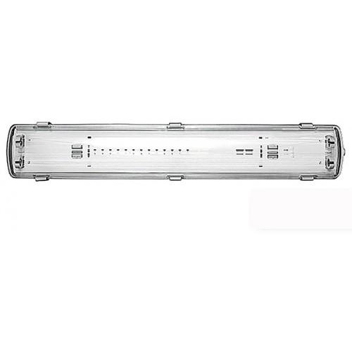 Светильник для LED ламп Т8 L-2*600мм, G13, ІР65