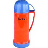Термос 450 мл стеклянная колба оранжевой Con Brio (350-CB orang)