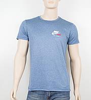 """Мужская футболка """"Вискоза"""" Nike 1901 джинс, фото 1"""