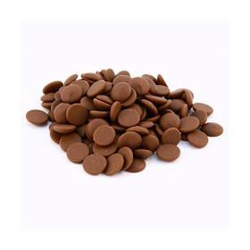 Шоколад молочний диски Аріба 36 % 10 кг