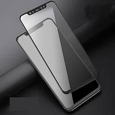 Защитное стекло AVG для Xiaomi Redmi Note 6 Pro полноэкранное черное