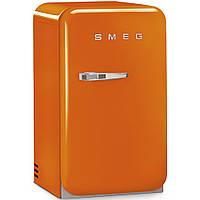 Отдельно стоящий мини-бар, стиль 50-х годов Smeg FAB5ROR оранжевый, фото 1