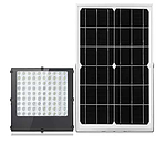 Вуличні світлодіодні світильники на сонячній батареї