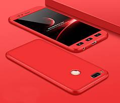 Чехол GKK 360 для Xiaomi mi A1 / mi 5x Бампер Red