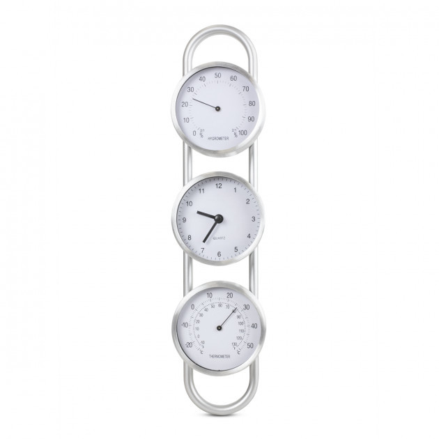 Цифровой  термо-гигрометр  с часами исп.2