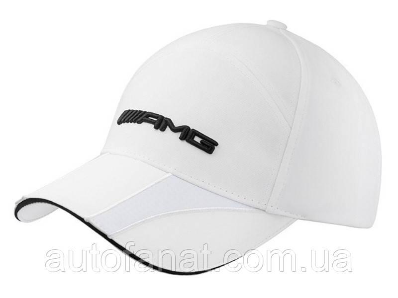 Оригинальная женская бейсболка Mercedes-Benz Women's Baseball Cap, AMG, White (B66952707)