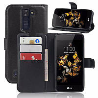 Чехол-книжка Litchie Wallet для LG K8 K350E Черный