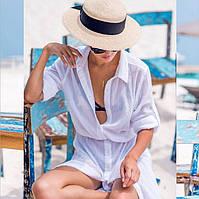 Новинки: пляжные туники, накидки, парео