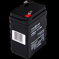 Аккумулятор AGM LogicPower LPM 6-5,2 AH, фото 1