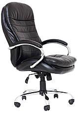 Кресло компьютерное Валенсия (Хром) (с доставкой), фото 2