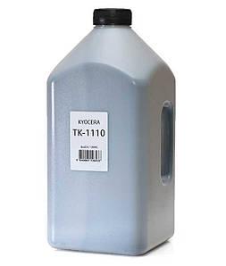 Тонер для Kyocera TK-1110 (чёрный порошок) совместимый, 1000 грамм / канистра ( ~ 11 х заправок)