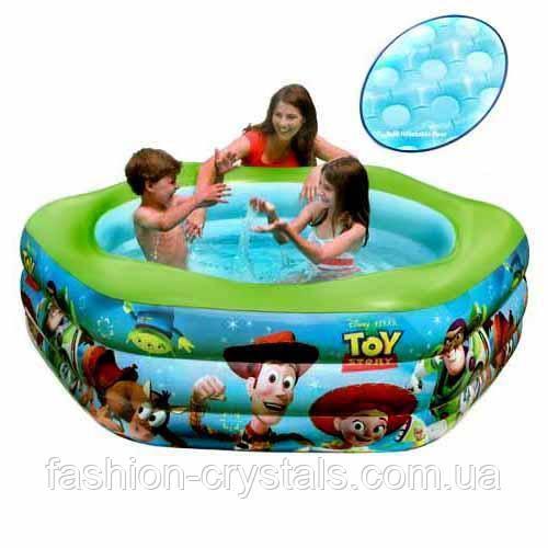 Детский надувной бассейн  Intex история игрушек