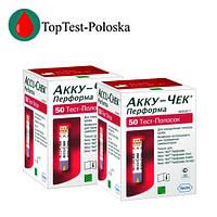 Тест-полоски Акку-Чек Перформа (Accu-Chek Performa) 100 шт.