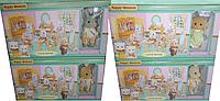 Игровой набор фигурка флоксовая с мебелью Сильваниан фемелис (Sylvanian Families B1001)
