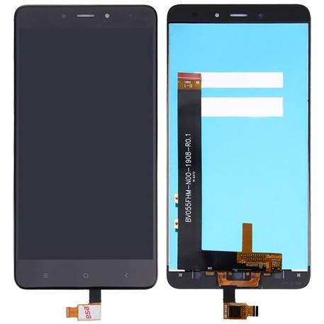 LCD экран+тачскрин Tina Xiaomi Redmi Note 4 AAA, фото 2