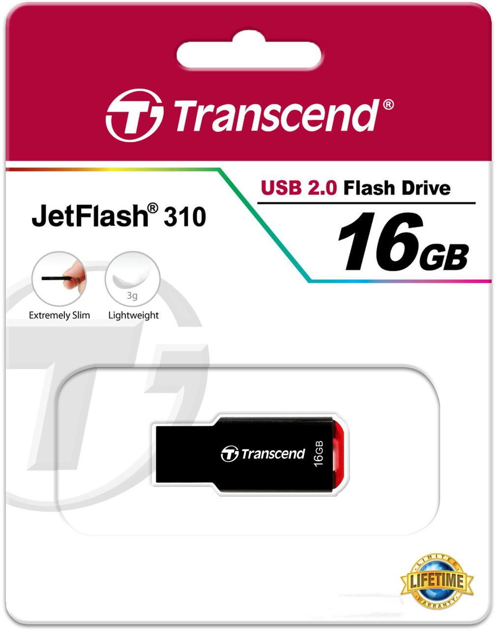 USB флешка 2.0 Transcend JetFlash 310 16Gb