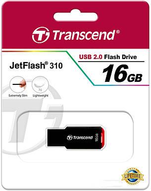 USB флешка 2.0 Transcend JetFlash 310 16Gb, фото 2