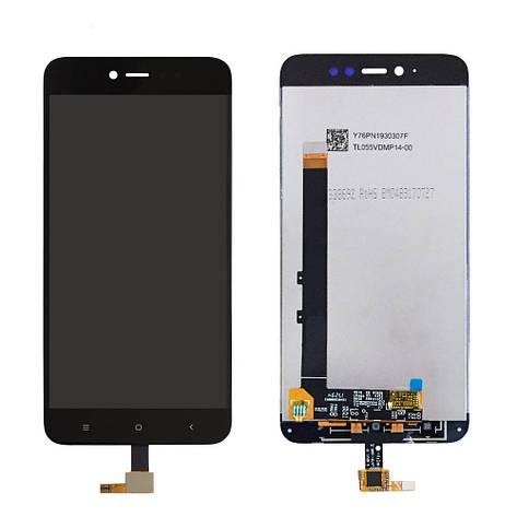 LCD экран+тачскрин Tina Xiaomi Redmi Note 5A Prime ААА, фото 2