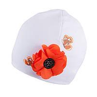 Трикотажная шапка для девочки TuTu арт. 3-002598(48-52)
