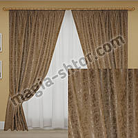 Готовые шторы мрамор светло-серые, фото 1