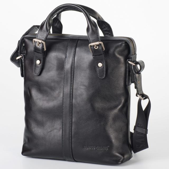 f2db65e18ac2 Вертикальная практичная сумка-портфель с одним основным отделением, в  котором есть держатели для телефона, ручек и др. мелочей. Мягкая мужская ...