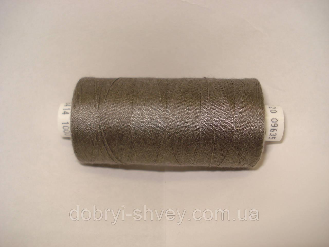 Нитка Coats EPIC №120 1000м.col 09635 серо-бежевый