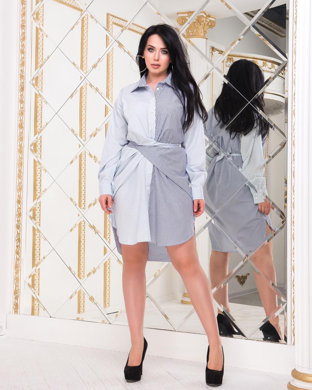Платье рубашка женское