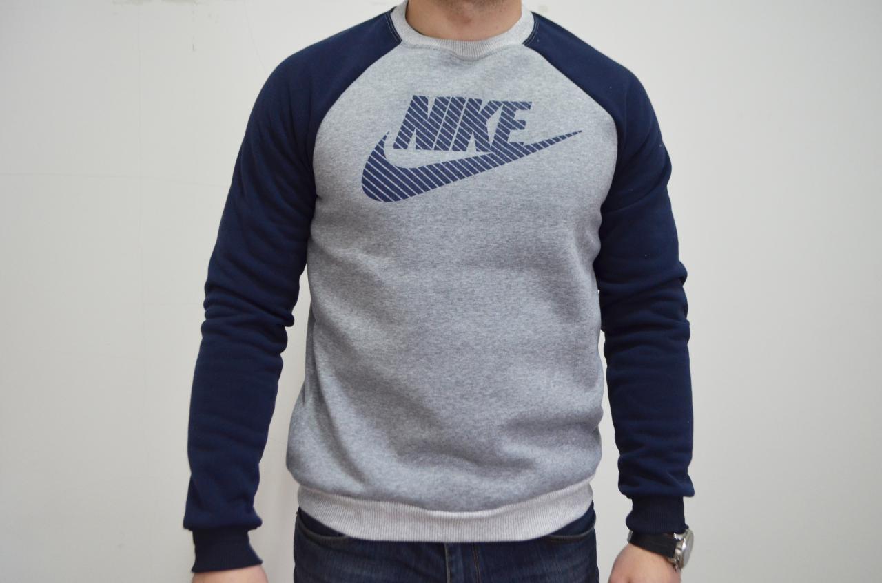 Спортивная кофта Nike/найк, олимпийка, теплая кофта, свитшот, реглан