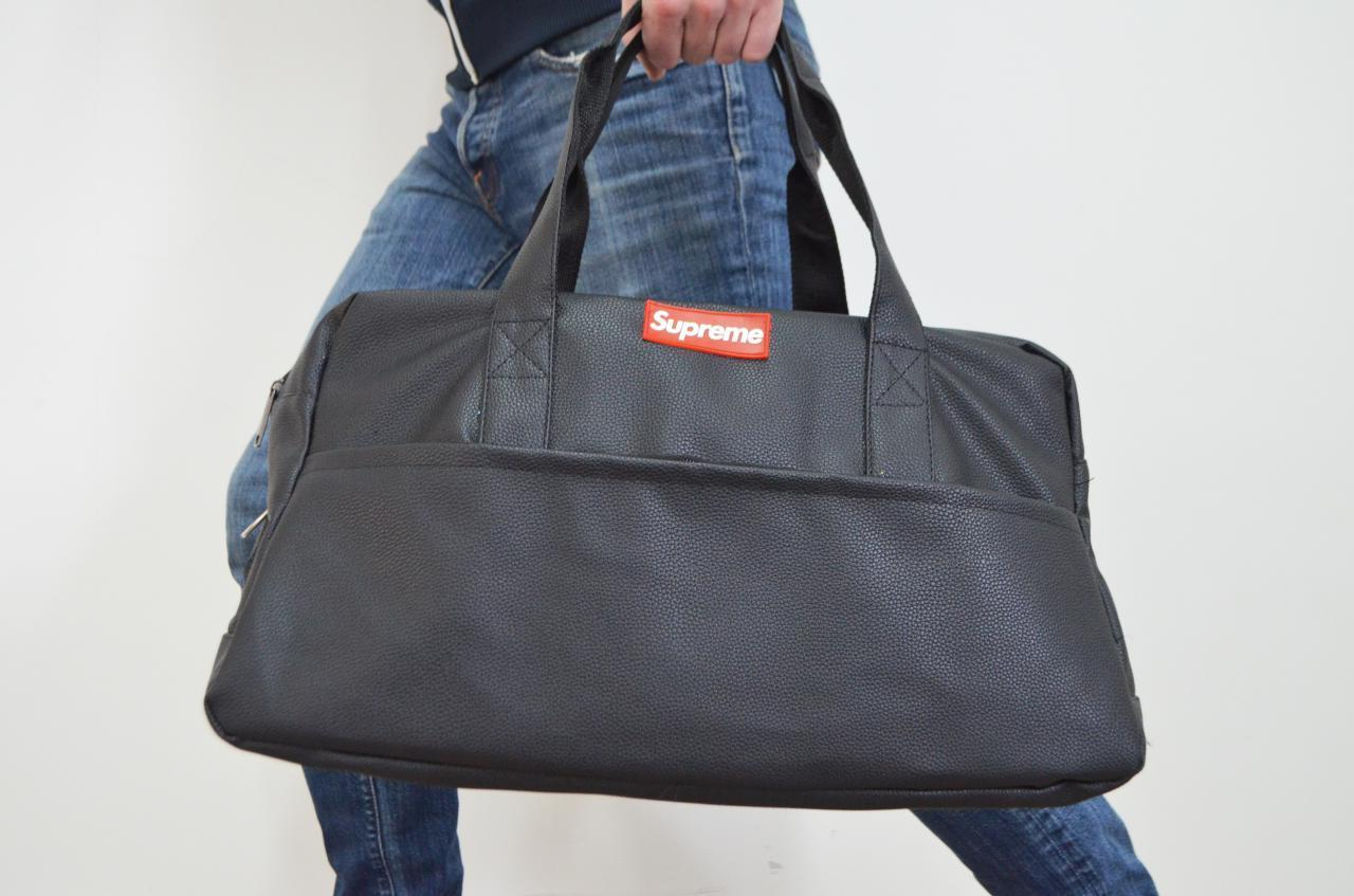 Дорожная спортивная мужская сумка Supreme саквояж, дроп, опт