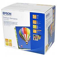 Фотобумага EPSON 100mmx150mm Premium Semiglossy Photo Paper, 500л. C13S042200