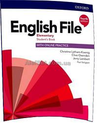 Английский язык / English File/ Student's Book+Online Practice. Учебник, Elementary / Oxford