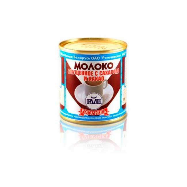 """Белорусское сгущённое молоко Рогачев """"Какао"""""""
