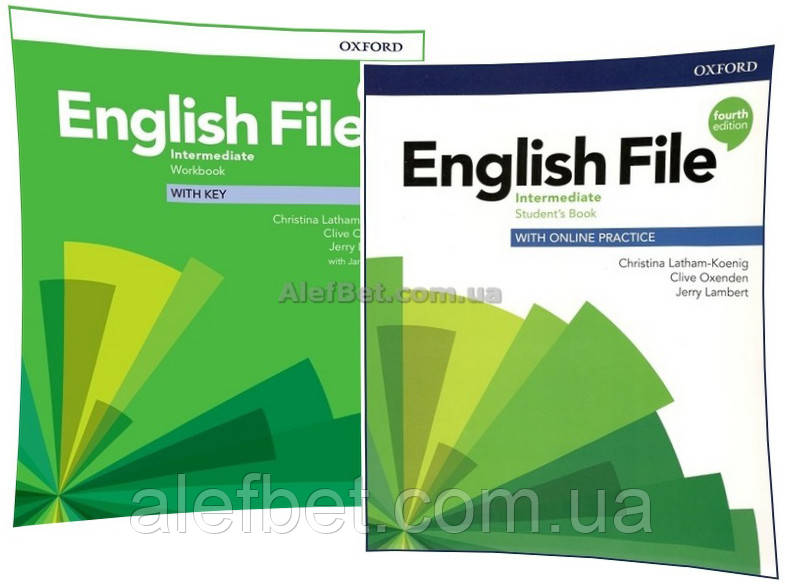 Английский язык / English File/ Student's+Workbook. Учебник+Тетрадь (комплект), Intermediate / Oxford