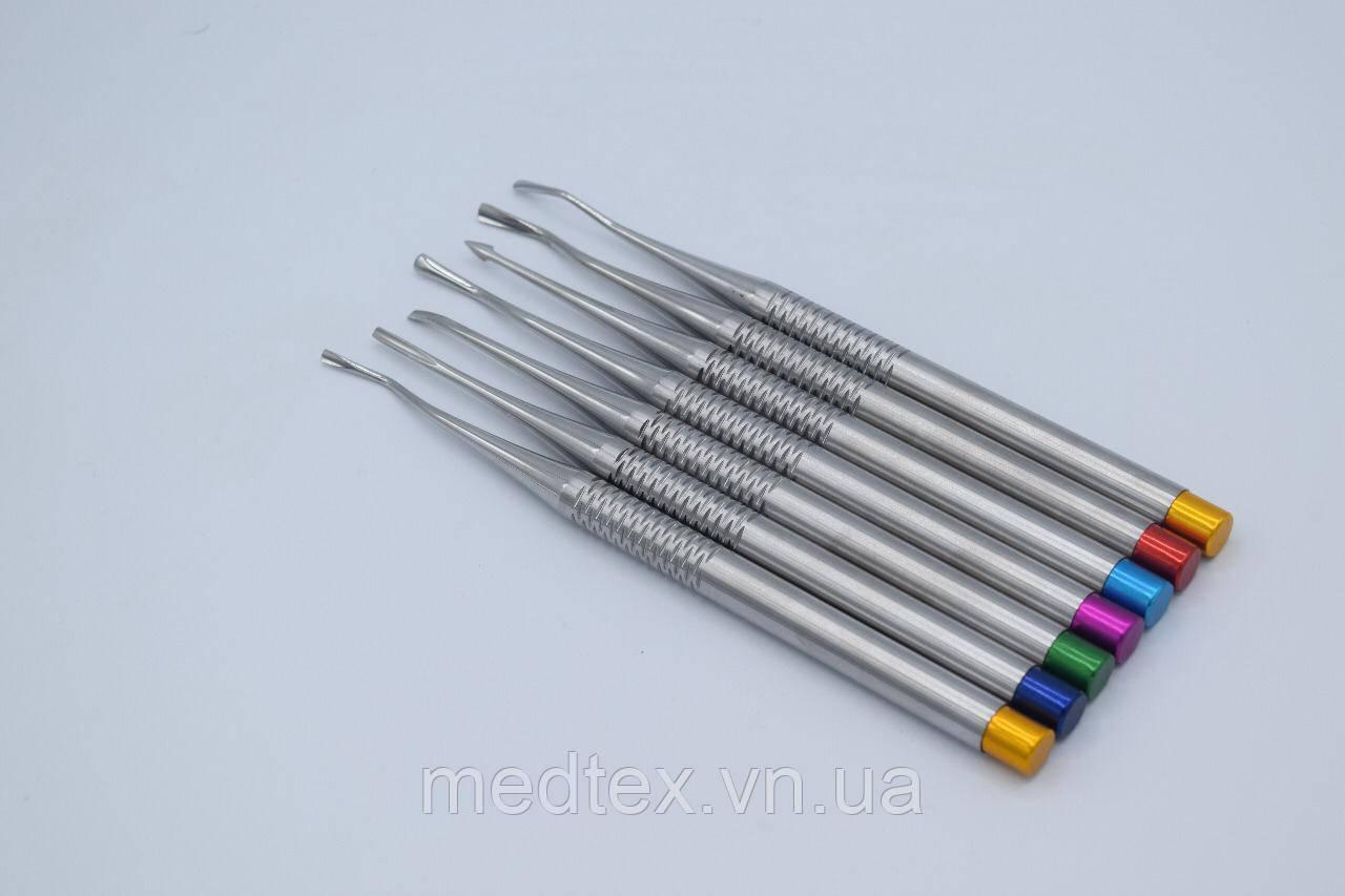 Набор мини элеваторов хирургических с зубчиками